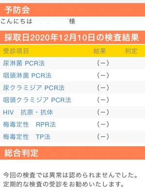 SYOKI(ショウキ) 性病検査&予約状況