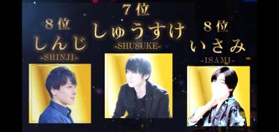 SHUSUKE(シュウスケ) 9月度のお礼