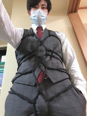 NAO(ナオ) セルフ亀甲縛り(スーツ)