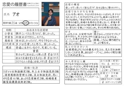 AO(アオ) 恋愛履歴書