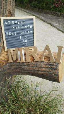 MIRAI(ミライ) 6月のシフトです(^-^)