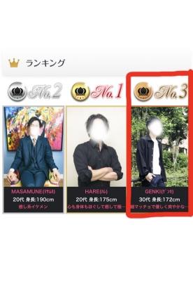 GENKI(ゲンキ) 念願のTOP3