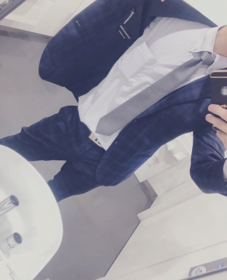 HIBIKI(ヒビキ) 久しぶりのスーツ