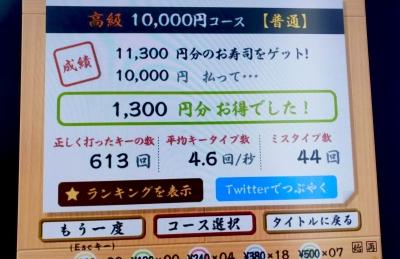 AYASE(アヤセ) 1万円分のお寿司、食べれますか?