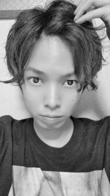 L(エル) 前髪を