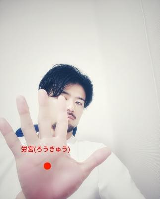 HISASHI(ヒサシ) 手のひら