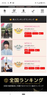 KONOSUKE(コウノスケ) 新人ランキング3位