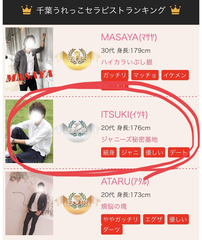 ITSUKI(イツキ) 7月分のランキング&感謝